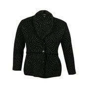 Alfani Women's Animal Print Sweater Cardigan