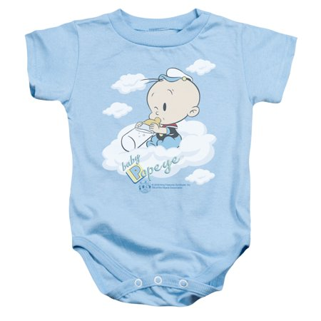 Popeye - Baby Clouds - Infant Snapsuit - 24 Month - Baby Popeye