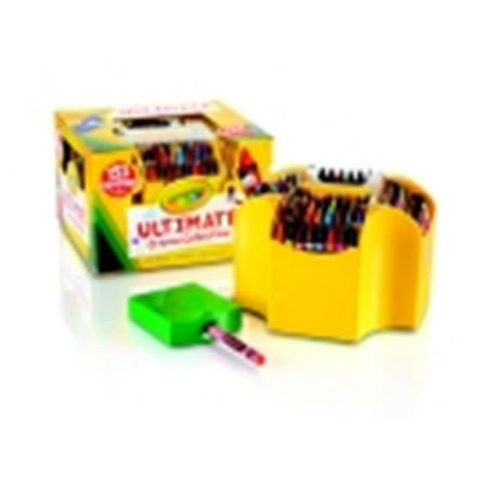 Crayola 4-Sided Ultimate Crayon Case Set - Assorted Color, Set - (Double Sided Crayons)