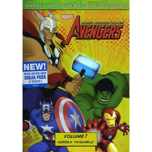 MARVEL THE AVENGERS-EARTHS MIGHTIEST HEROES-V01 (DVD/WS/ENG-SP SUB)