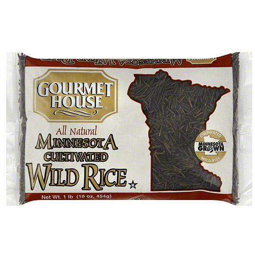 Gourmet House Minnesota Cultivated Wild Rice, 16 oz (Pack of 6) by Generic