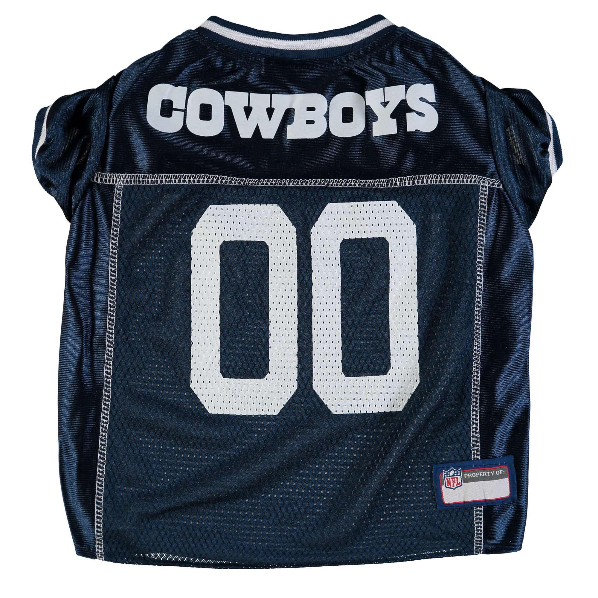 Dallas Cowboys Mesh Dog Jersey