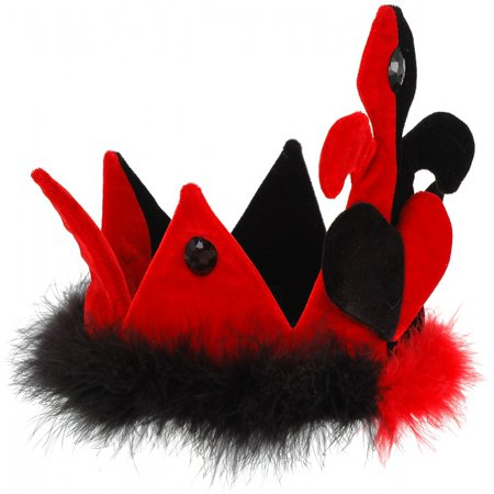 Queen of Hearts Costume Crown](Crown Queen Of Hearts)