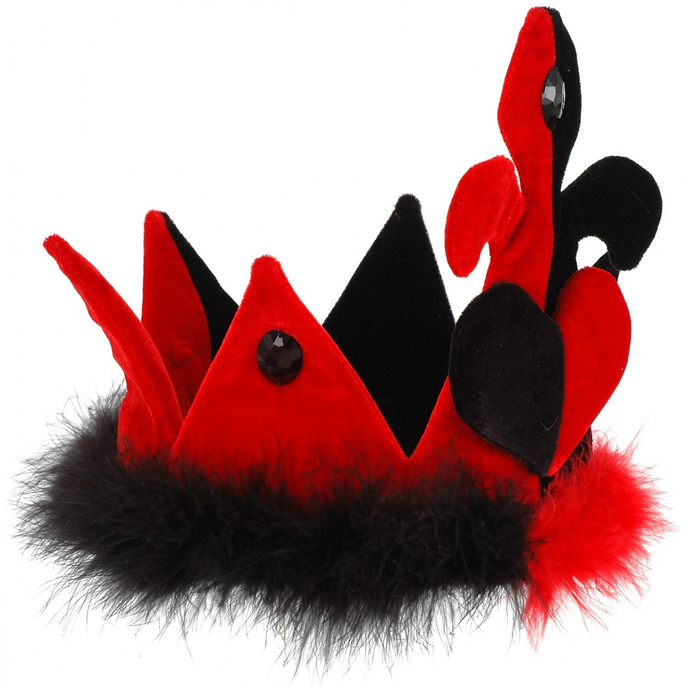 Queen of Hearts Costume Crown
