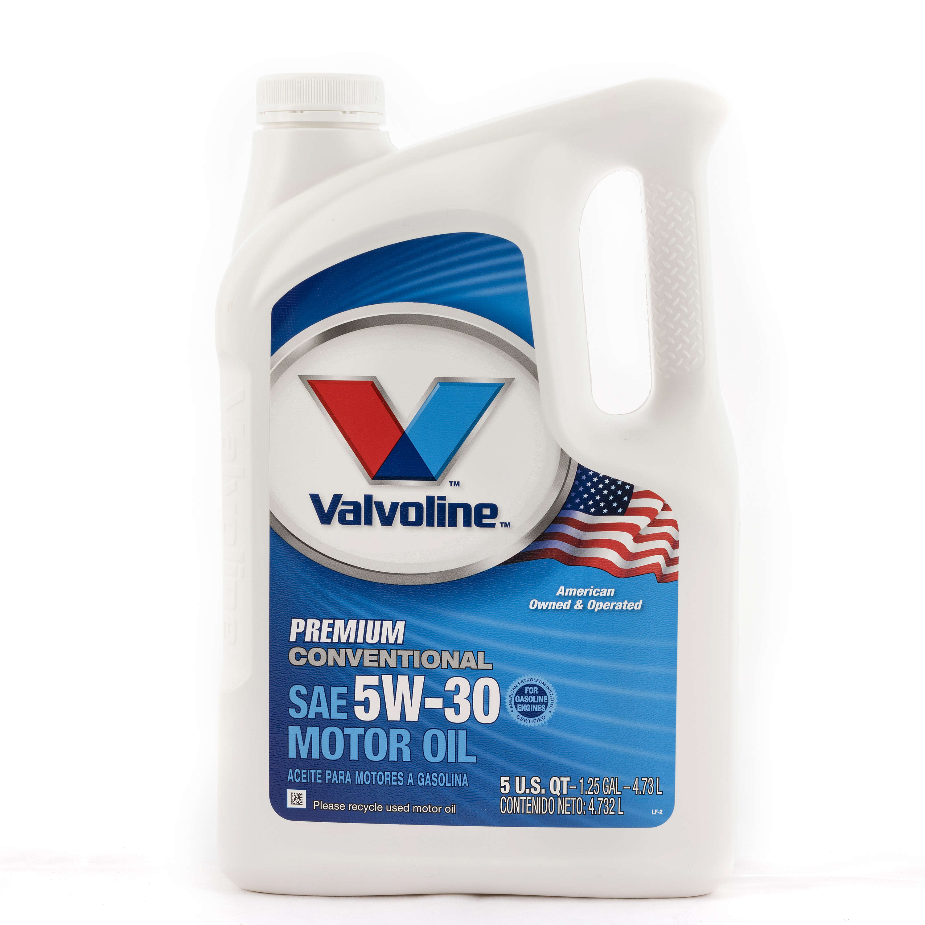 Valvoline Daily Protection 5W-30 Motor Oil, 5 Quarts