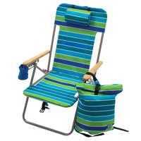 RIO Backpack Chair, Assorted Colors, Folding Beach Chairs