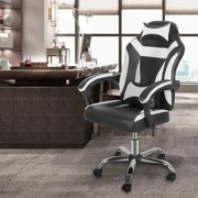 Magshion High-Back Faux Leather Ergonomic Heavy Duty Executive Swivel Office Desk Chair Black