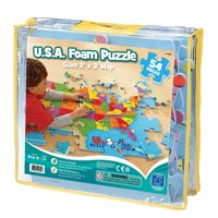 Educational Insights® USA Foam Map Puzzle, 54 Pieces