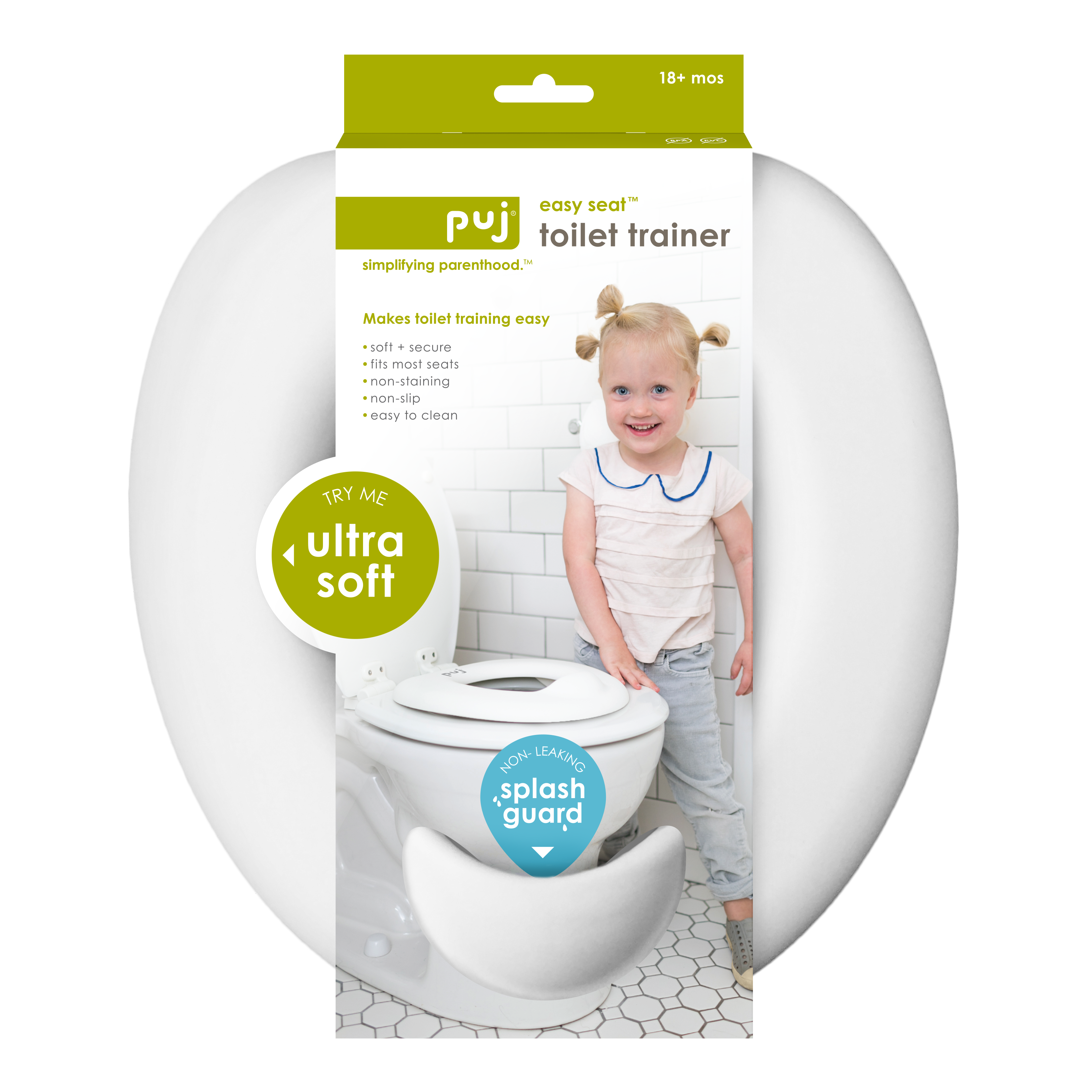 Puj Easy Seat Toilet Trainer – White