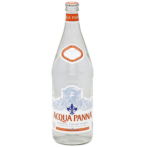 Acqua Panna Natural Spring Water, 33.8 oz (Pack of 12)