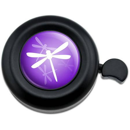 Purple Dragonfly Dragonflies Bicycle Handlebar Bike Bell