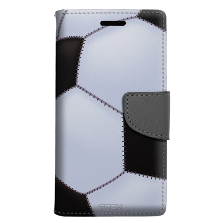 low priced 76327 03544 LG X power Wallet Case - Soccer Ball Case