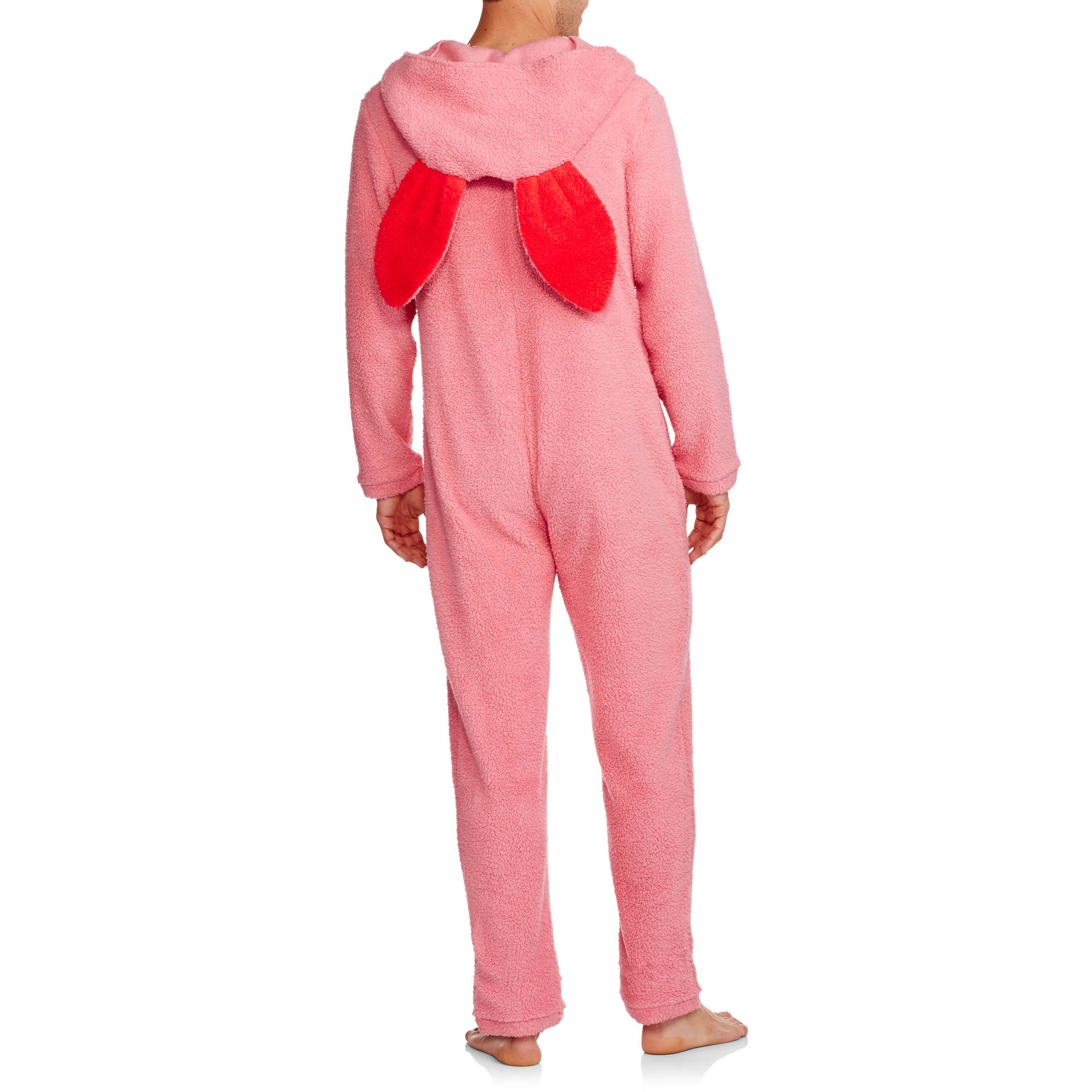 a christmas story mens pink bunny union suit pajama