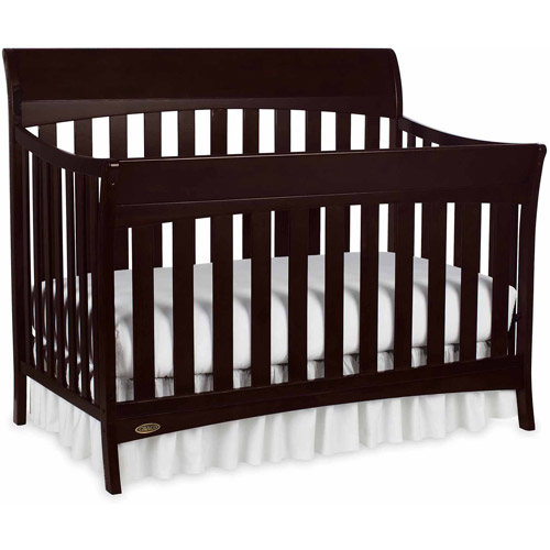 Graco Rory 5 in 1 Convertible Crib Espresso