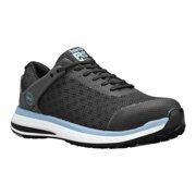 timberland pro women's drivetrain composite toe sd+ industrial boot, black/blue mesh, 8 m us