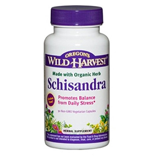 Oregon's Wild Harvest Schisandra Organic Supplement, 90 Count, 90 Fluid Ounce