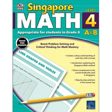 Singapore Math, Grade 5 (Halloween Jobs Singapore)