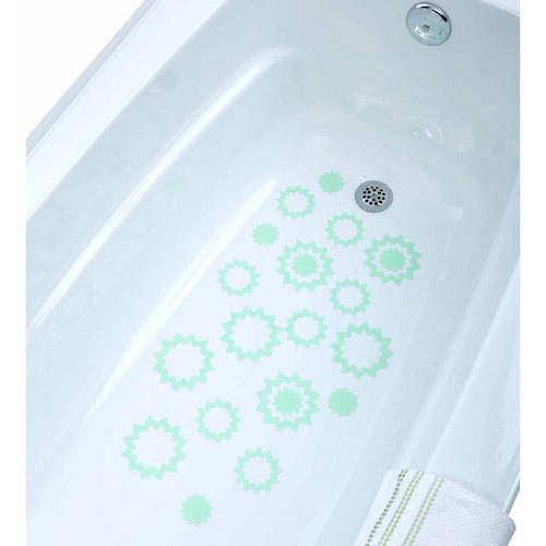 SlipX Solutions Adhesive Starburst Bath and Shower Treads