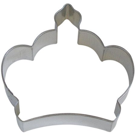 Imperial Crown Tin Cookie Cutter 3.5