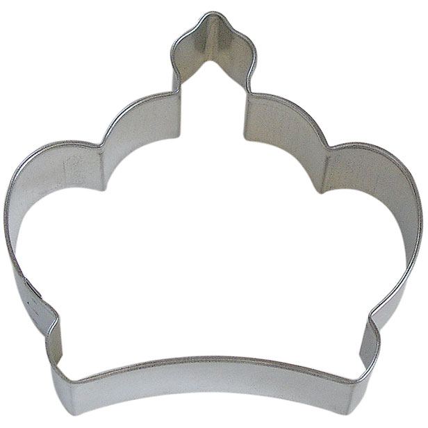 """Imperial Crown Tin Cookie Cutter 3.5"""" B0898"""