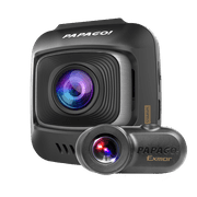 PAPAGO! GoSafe S780 2-Channel 1080p Full HD Front and Rear Dash Cam with Sony Starvis Image Sensor Ultra Wide Angle and Driving Safety Features Free 16GB Micro SD Card