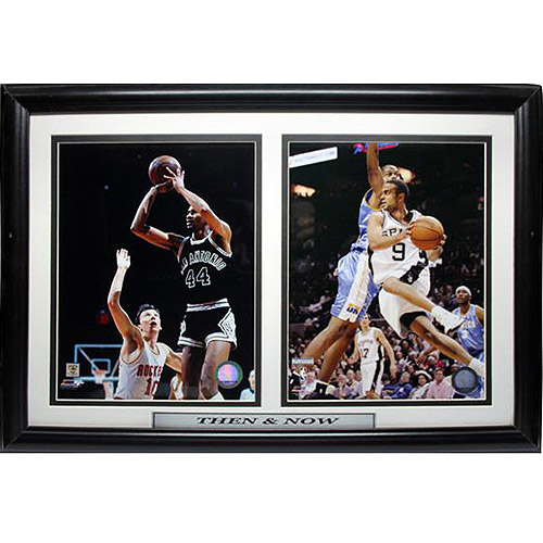 NBA San Antonio Spurs Greats Double Custom Frame, 12x18