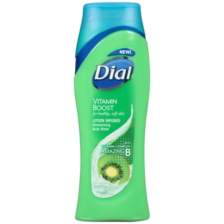 16 Boost - Dial Body Wash, Vitamin Boost Amazing B, 16 Ounce