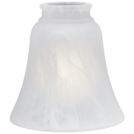 - Minka Aire Etched Marble Glass Shade - 2652