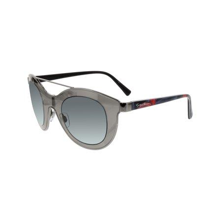 b4e23ccc845 Giorgio Armani Women s AR6033-301087-39 Silver Shield Sunglasses - image 1  ...