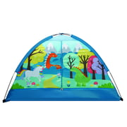 """Crckt Kids Indoor Camping Play Tent with Majestic Design Print, 60""""L x 36""""W x 36""""H"""