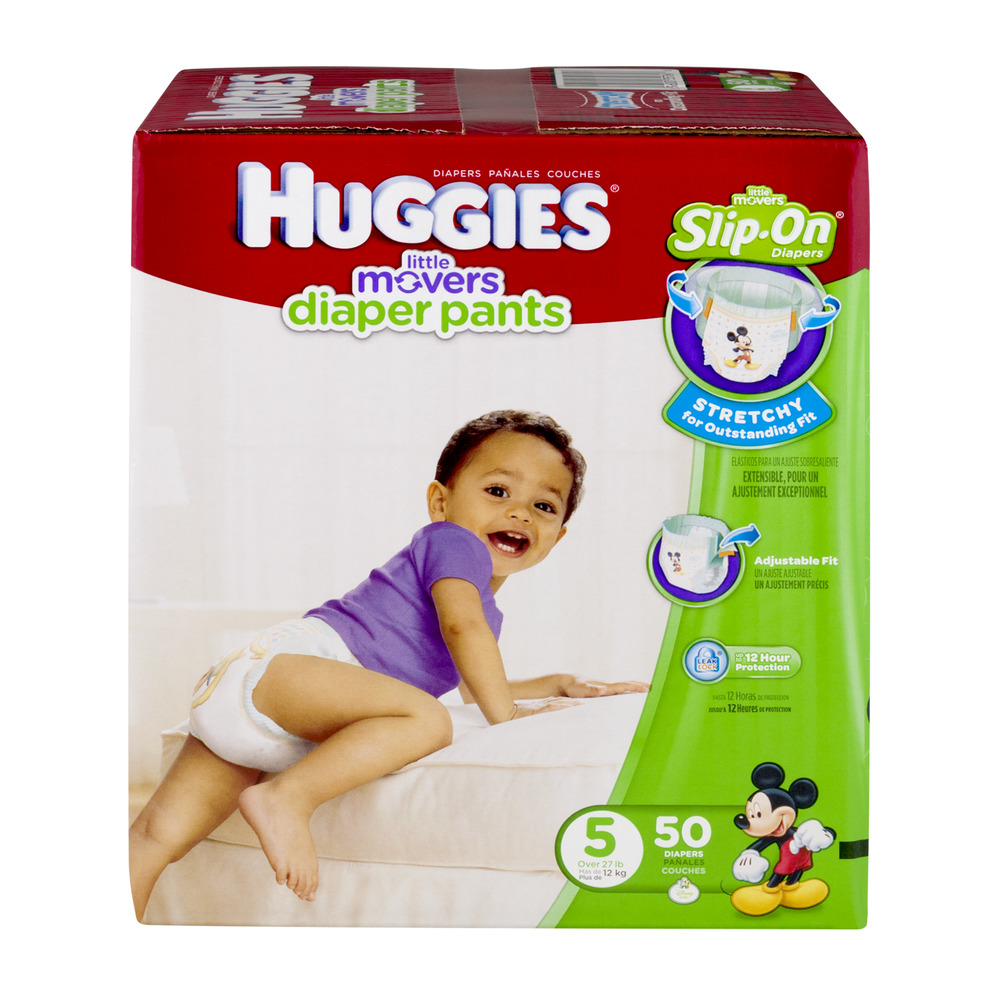 Huggies Little Movers Diaper Pants Size 5 - 50 CT