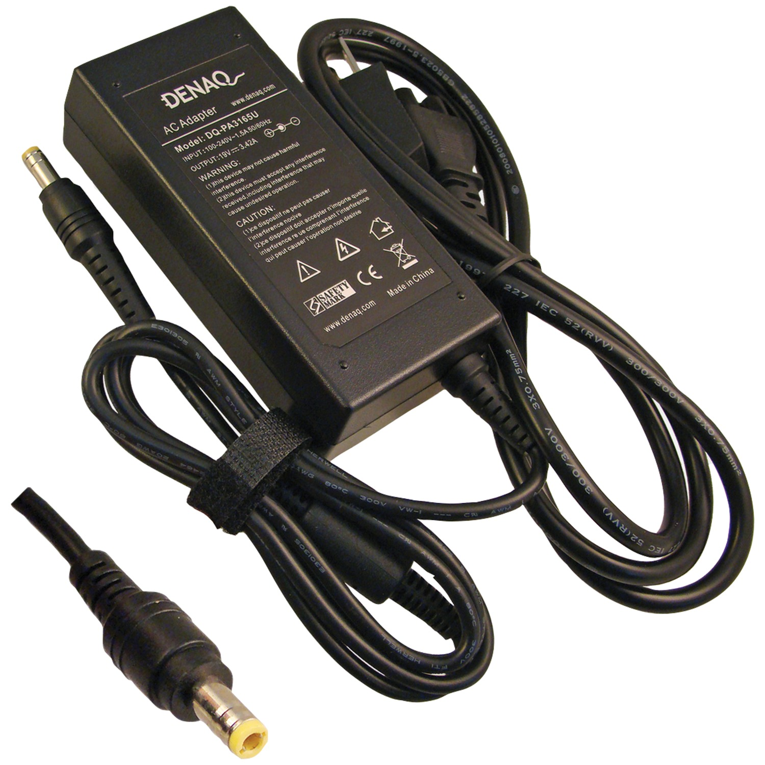 Denaq DQ-PA3165U-5525 19-Volt DQ-PA3165U-5525 Replacement AC Adapter for Toshiba Laptops