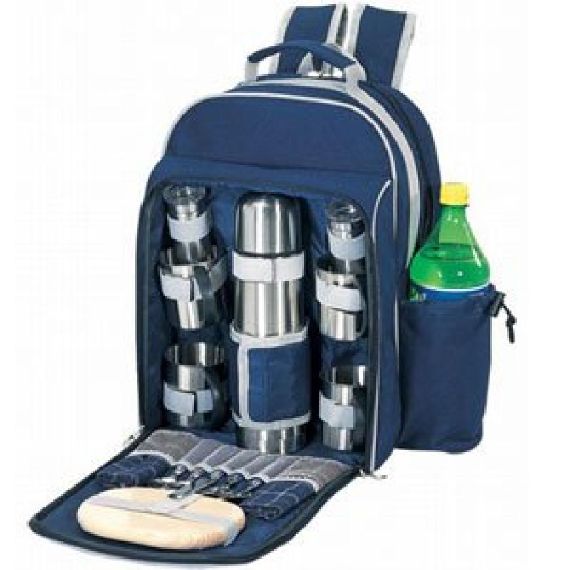 Sutherland Baskets Java Delight Coffee Set in Blue