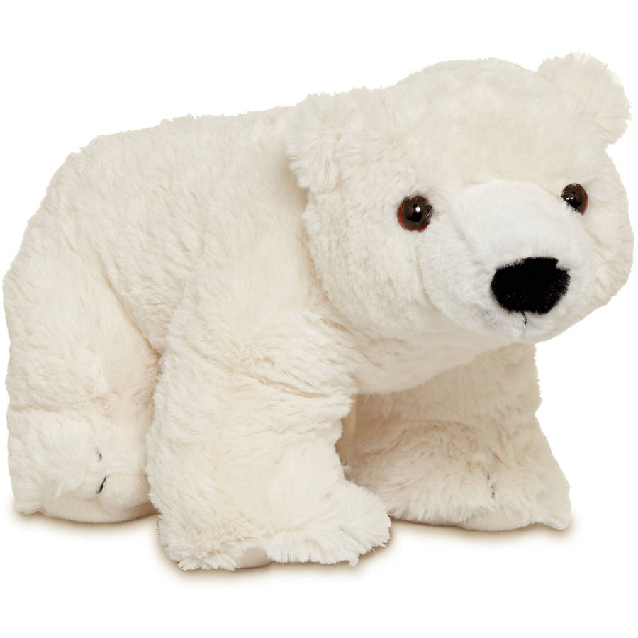 Melissa & Doug Glacier Polar Bear Stuffed Animal