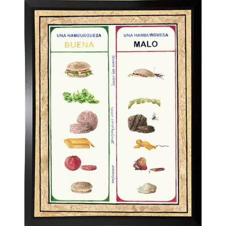Winston Porter 'Malo Y Bueno' Graphic Art Print