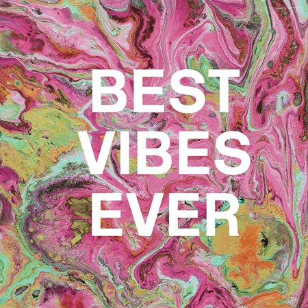Best Vibes Ever Poster Print by Linda Woods
