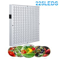 Ktaxon 225 LED Grow Light Hydroponic Lamp, Blue & Red, 14 Watts Quad-band Plant Light for greenhouse medical and indoor.