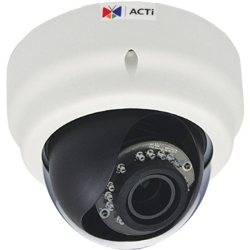 ACTi 1 Megapixel Network Camera - Color, Monochrome D64A
