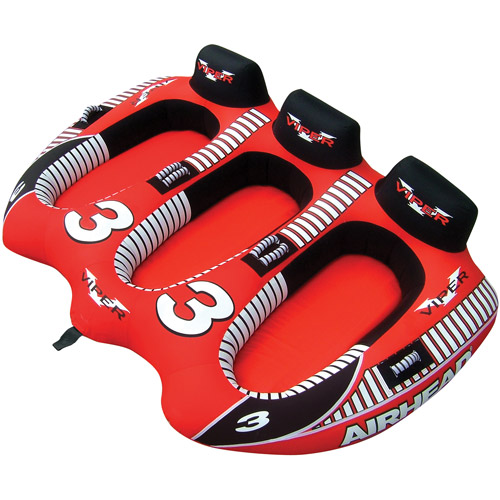 Airhead Viper, 3-Rider, Red and Black