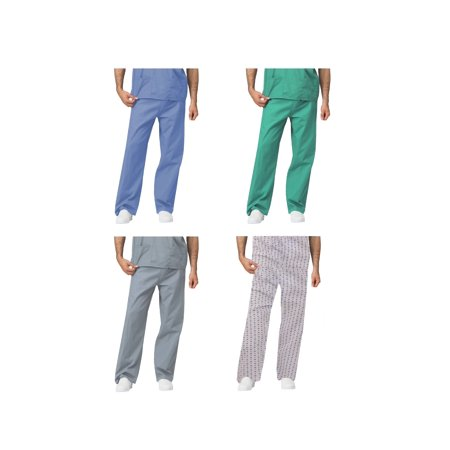 LEADERTUX Unisex Medical Apparel Doctor Nurse Reversible Uniform Scrub Pants XS-3XL?