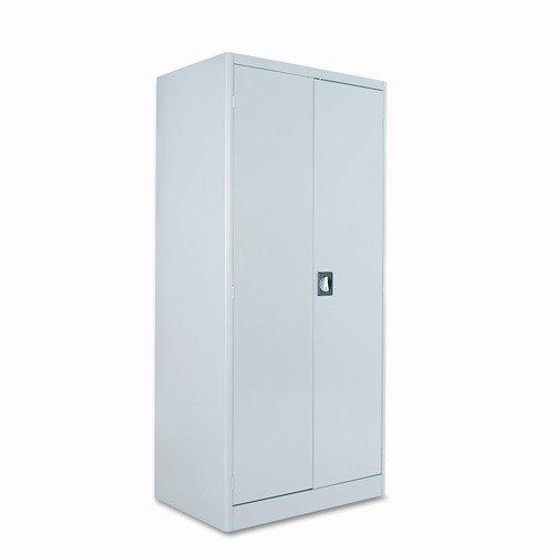 Alera Heavy-Duty Storage Cabinet, 4 Adjustable Shelves, 36 x 24 x 78, Putty