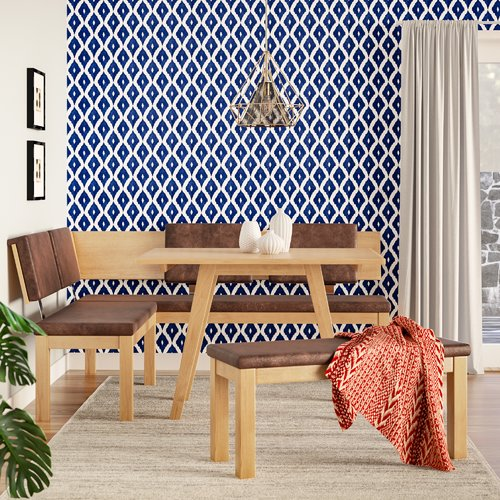Brayden Studio Desouza 3 Piece Dining Set