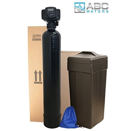 ABCwaters Built Fleck 5600sxt 24,000 WATER SOFTENER w/UPGRADED IRON REMOVAL + Hardness Test + Install Kit - IRON MAN
