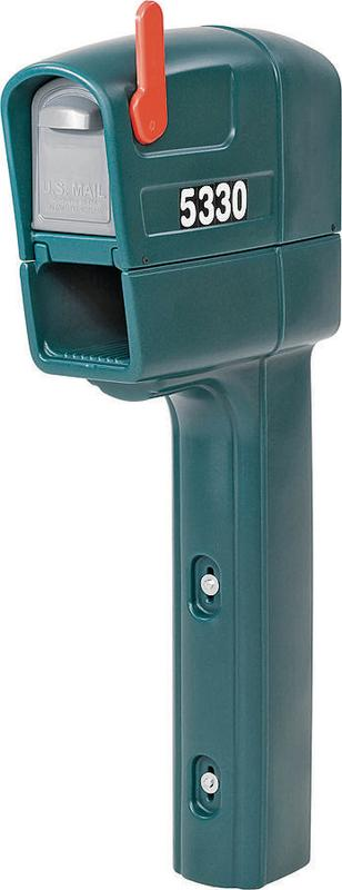 Mailmaster Trimline 53300 540200 Heavy Duty Mailbox, 50-1 2 in H x 22-1 4 in W x 9-1 4 in... by STEP 2 CORP