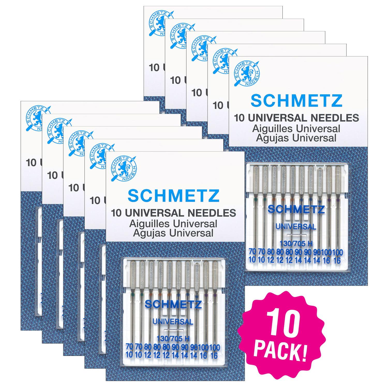 Schmetz Universal 100//16 Sewing Machine Needles 50 Pack
