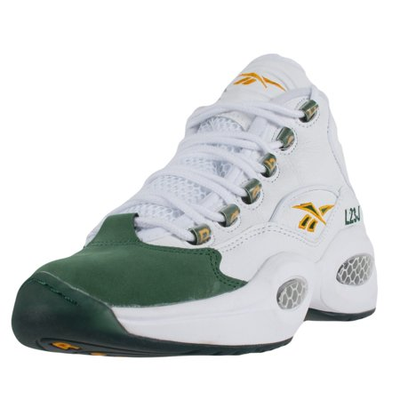 REEBOK X PACKER SHOES QUESTION MID FOR PLAYER USE ONLY 2LBJ3 WHITE V53579 PROMO