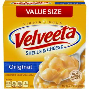 Kraft Velveeta Original Shells & Cheese 24 oz. Box