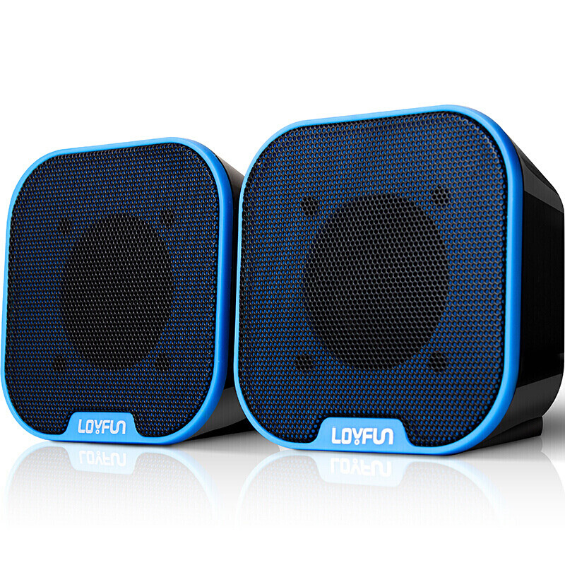 2.0 Channel 3.5mm Computer Speakers Mini Stereo Speaker USB Powered Supply For Laptop Computer Smartphones