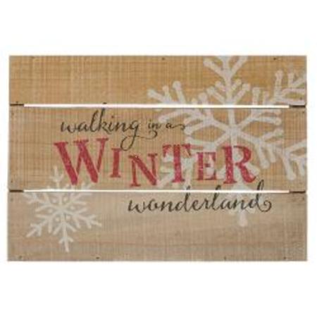 Honey In Me Winter Wonderland Pallet Sign (Winter Wonderland Decor)