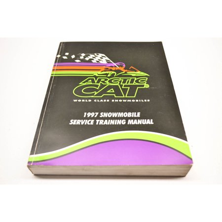 Car Service Manual - Arctic Cat 2255-572 97 Snowmobile Service Training Manual QTY 1